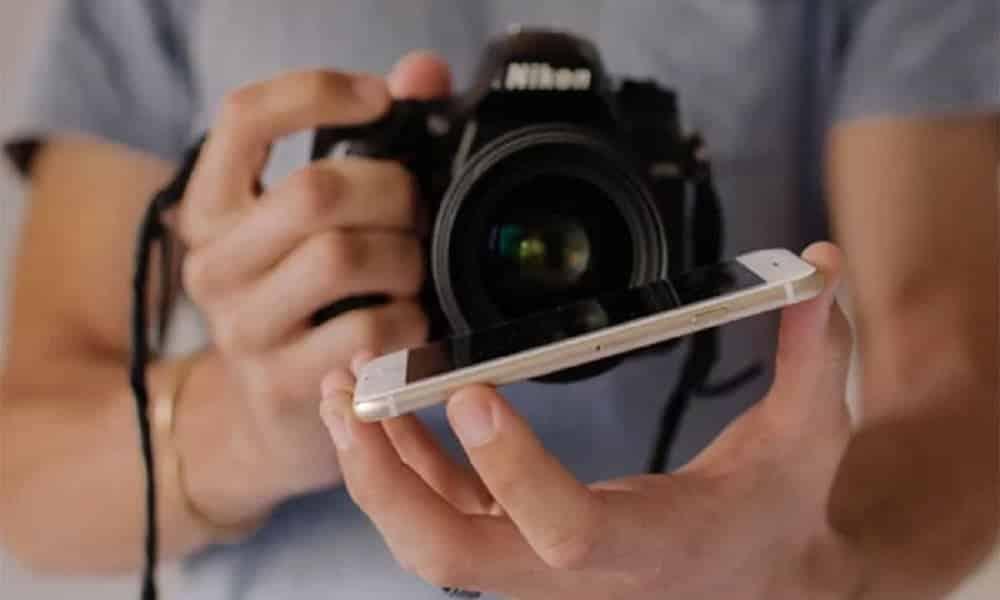 Esse truque com celular vai deixar fotos de casamento incríveis