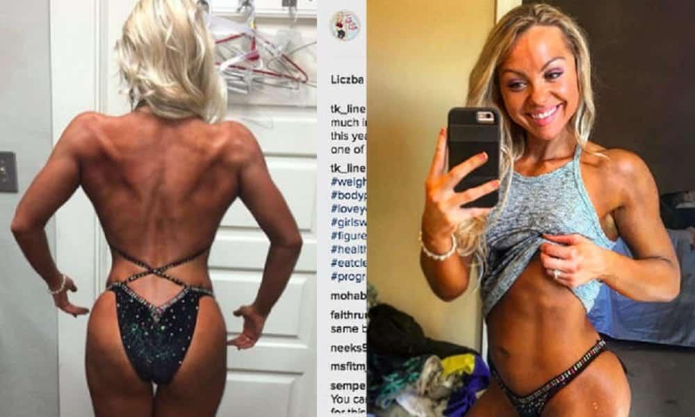 Fisiculturista posta foto após ficar 3 meses sem malhar e mudança choca