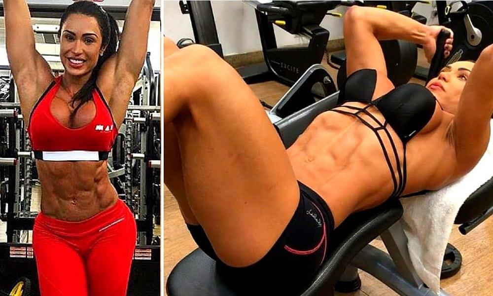 Saiba qual é o peso de Gracyanne Barbosa e suas medidas corporais