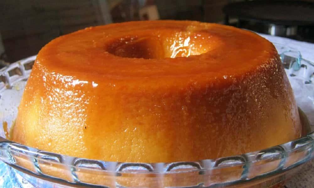 Pudim de pão diet é fácil de fazer e tem apenas 40 kcal por porção