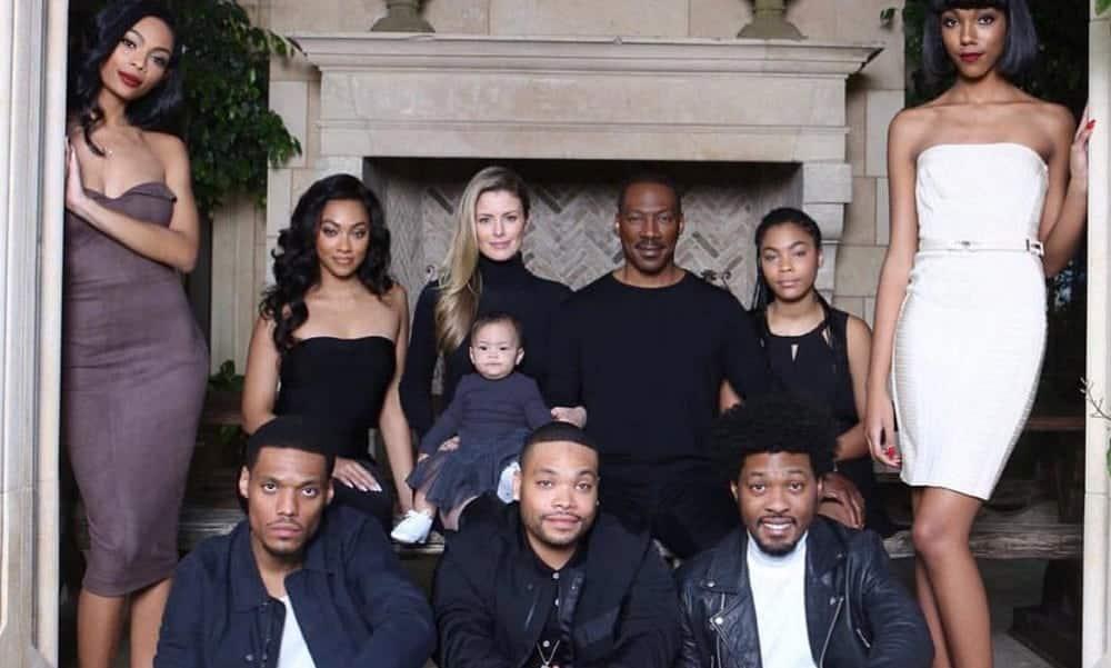 Eddie Murphy vai ser pai pela 10ª vez! Conheça seus outros 9 filhos