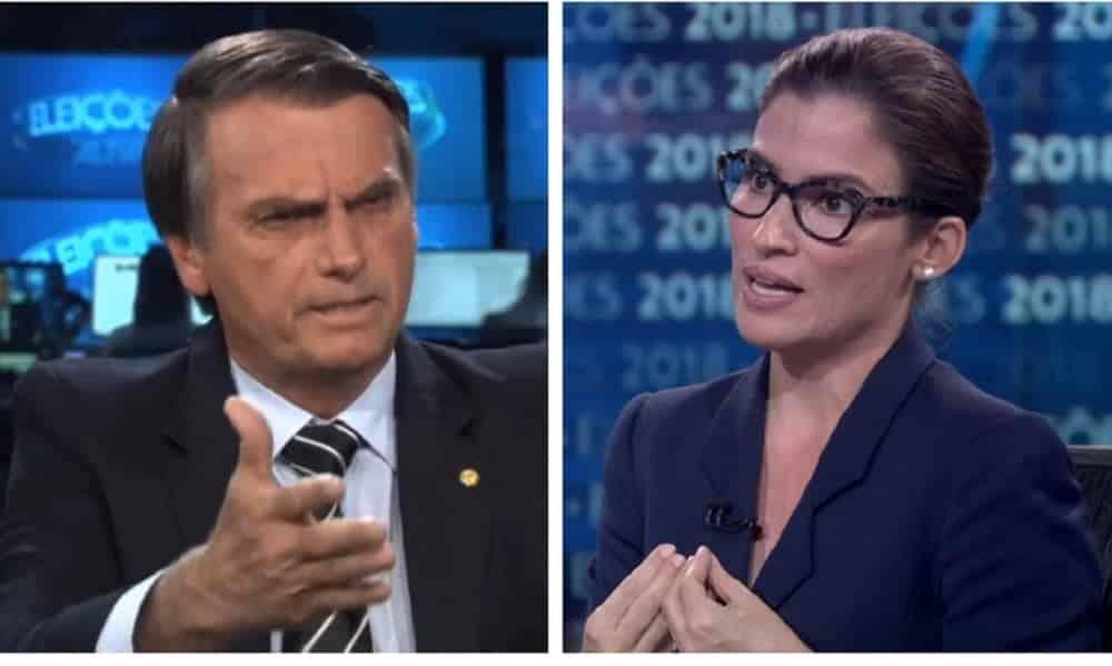 Globo se pronuncia sobre salário de Renata Vasconcellos depois de embate com Bolsonaro