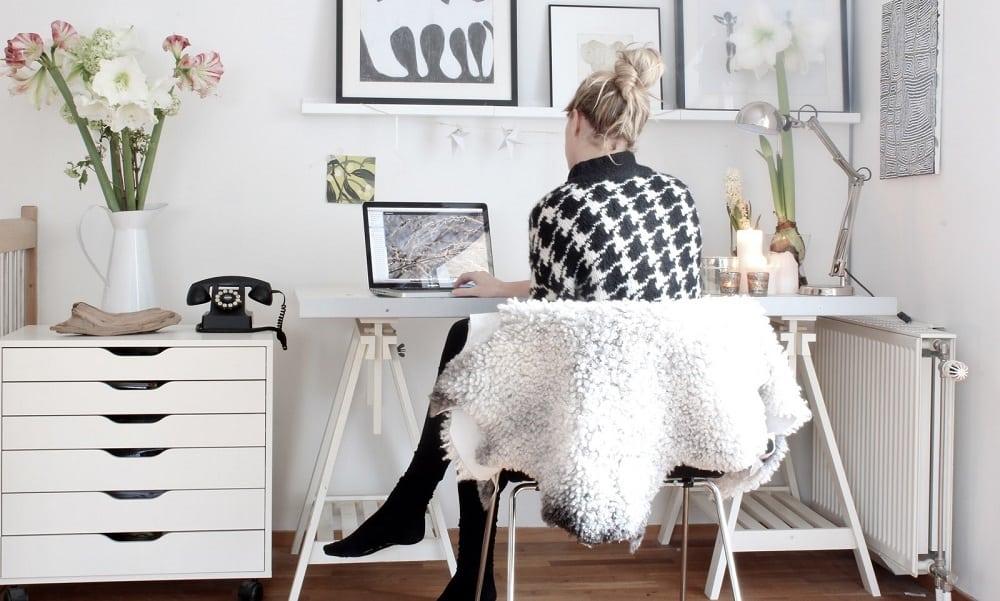 5 motivos porque trabalhar em casa é muito mais produtivo