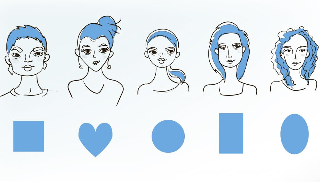 Qual o formato do seu rosto? Você consegue identificar?