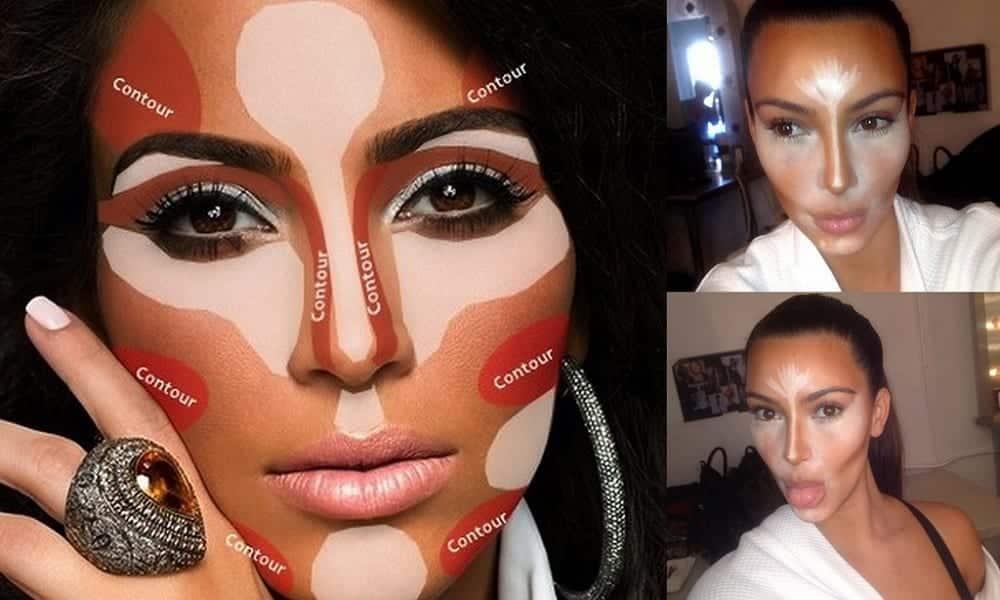 Como fazer o contorno para cada tipo de rosto