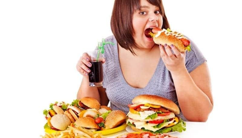 6 tipos comuns de transtornos alimentares (e seus sintomas)