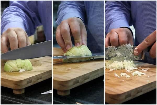 Como cortar cebola de uma forma prática, rápida e fácil
