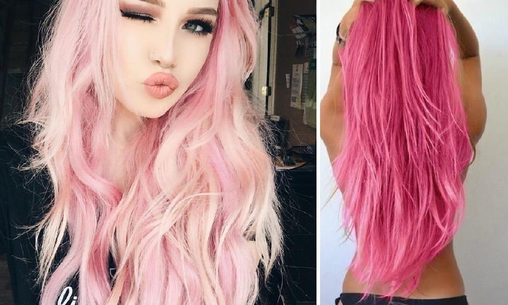 25 imagens de cabelo rosa para te encorajar a mudar o visual