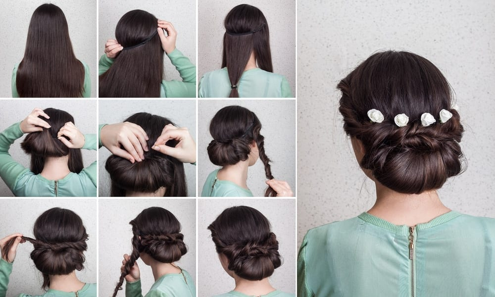 Como usar grampos de cabelo para decorar penteados
