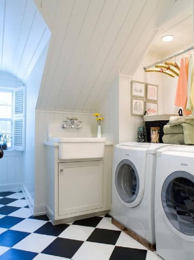 30 imagens para te inspirar a decorar a lavanderia!