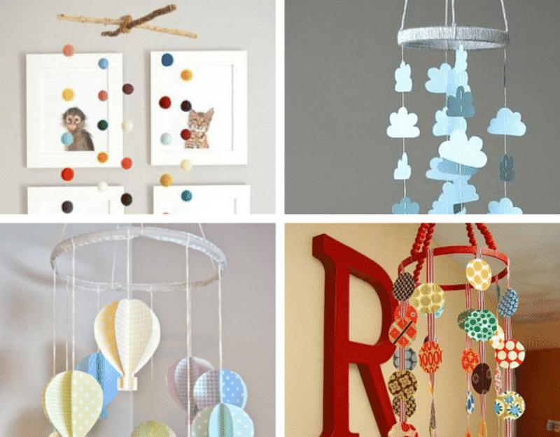 8 enfeites para o quarto do bebê que você pode usar