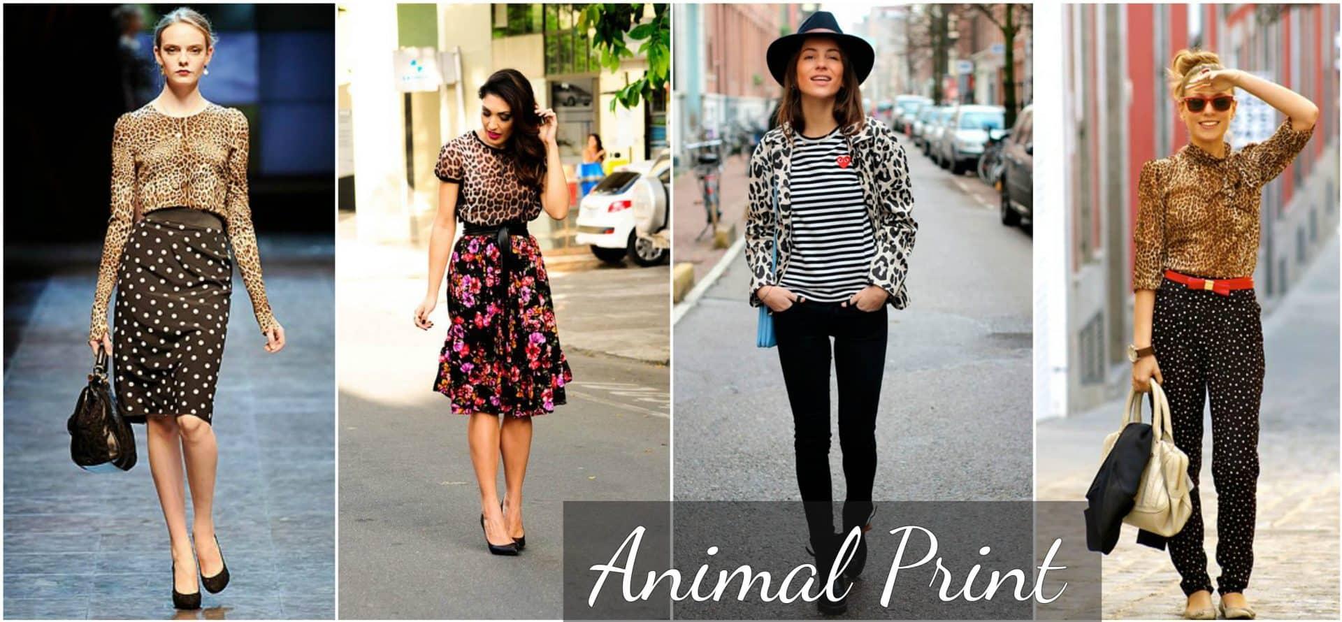 Animal print está de volta: Veja o que é a nova tendência em estampas