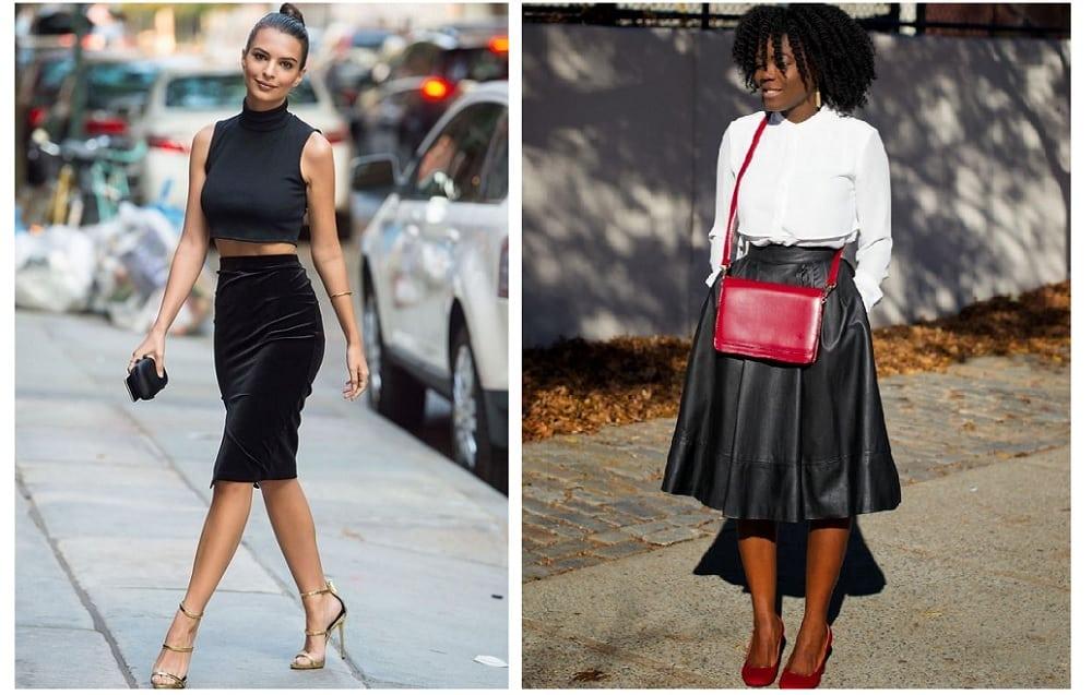 Como usar saia midi: modelos, combinações e inspirações possíveis