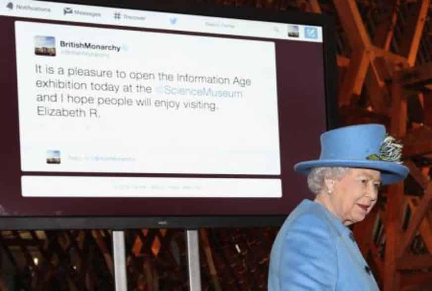 Rainha Elizabeth faz post no Instagram pela 1ª vez