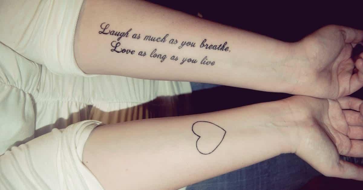 30 pequenas frases para tatuagem que você pode fazer