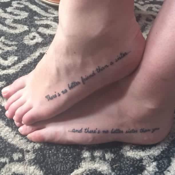 50 ideias estilosas e maravilhosas para tatuagem de irmãs