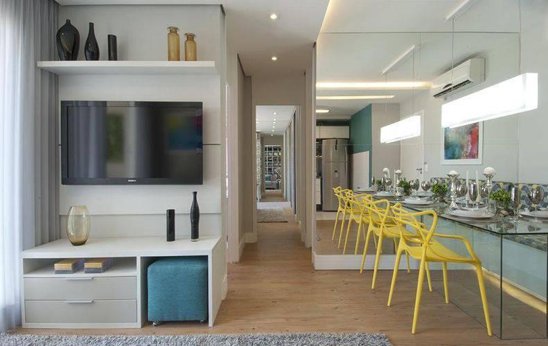 50 imagens de decoração de sala pequena para te inspirar [decoração]
