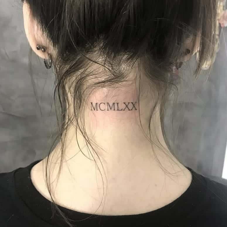 70 fotos de tatuagem na nuca para te inspirar a fazer a sua