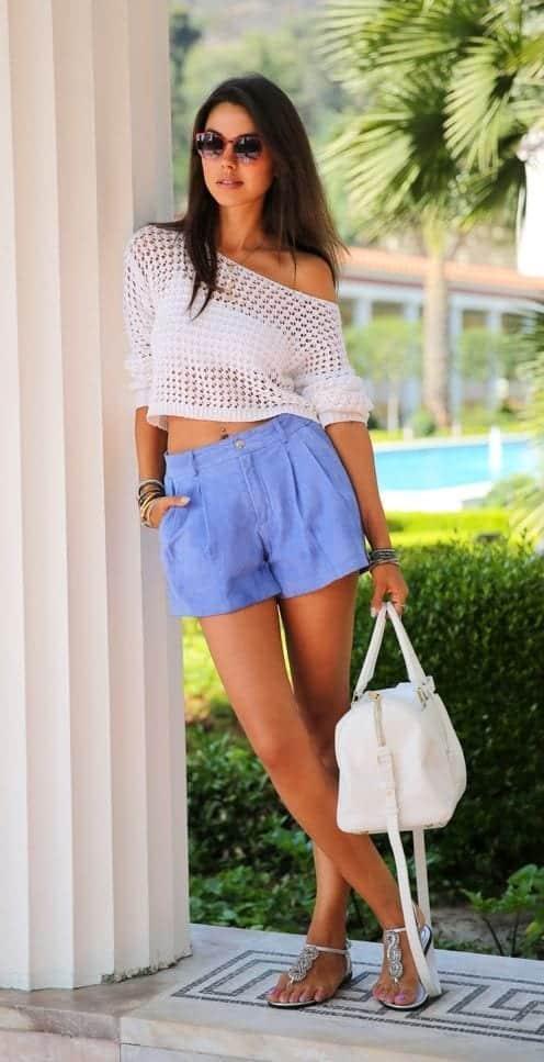 Como valorizar o seu estilo usando blusa de crochê