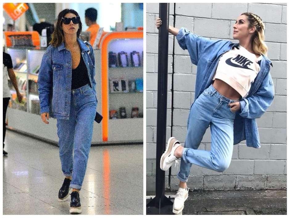 Mom jeans, como usar a cal e combinações de looks
