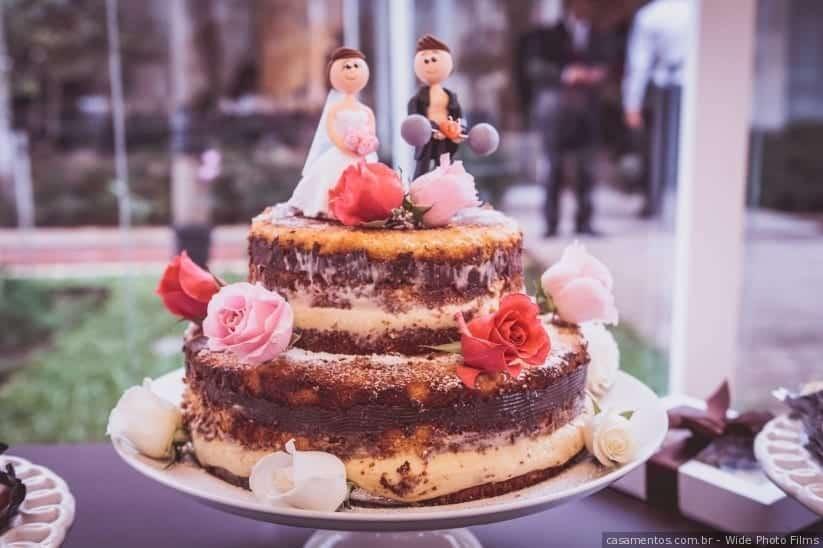 Bolo de casamento, dicas e 50 imagens para te inspirar
