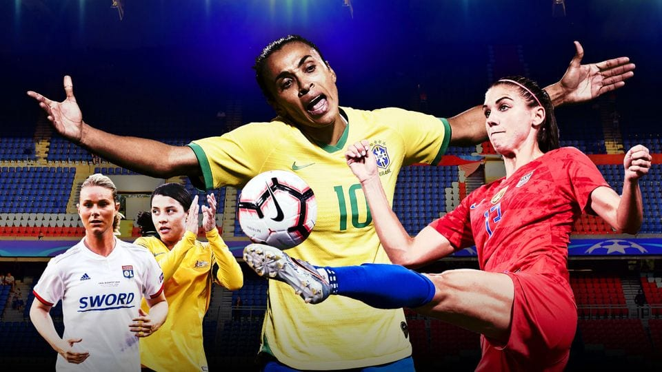Copa do mundo feminina, 20 melhores jogadoras do mundial
