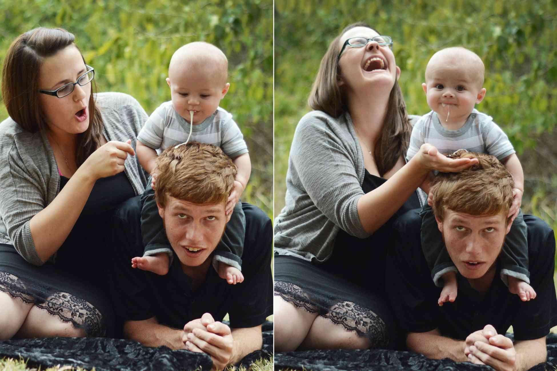 Expectativas X Realidades de algumas fotos de bebês
