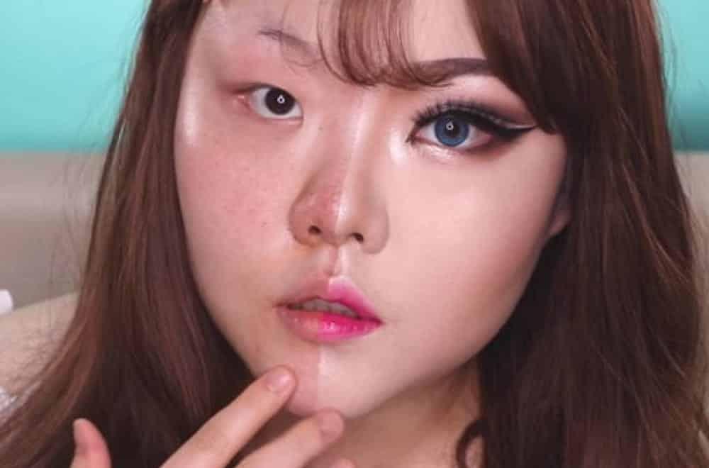 Asiáticas e seus mais curiosos truques de maquiagem