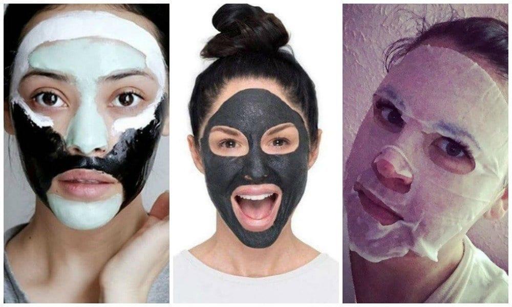 Receitas fáceis de máscaras faciais caseiras, baratinhas e multifuncionais