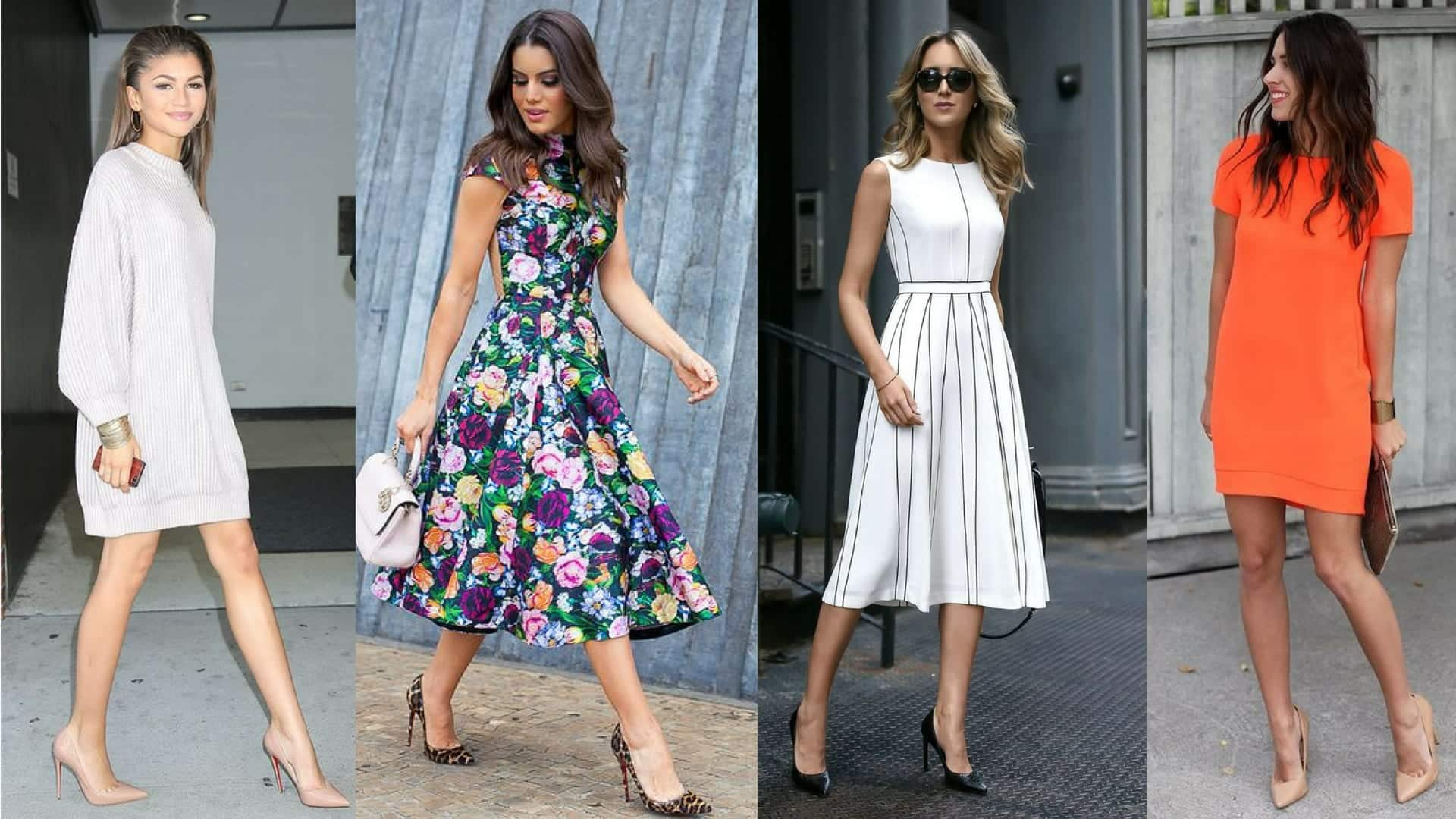 Modelos de vestidos - Qual o ideal para cada tipo de corpo?