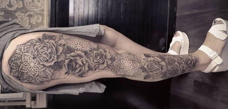 80 fotos de tatuagem na perna para você se inspirar