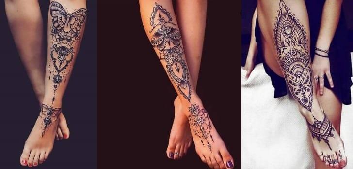 Tatuagem Na Perna 80 Opções De Desenhos E Estilos De