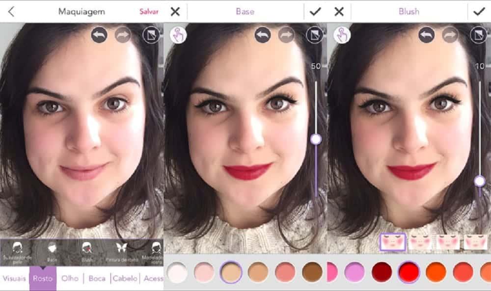 Aplicativos de maquiagem - 10 melhores para dar um up nas selfies