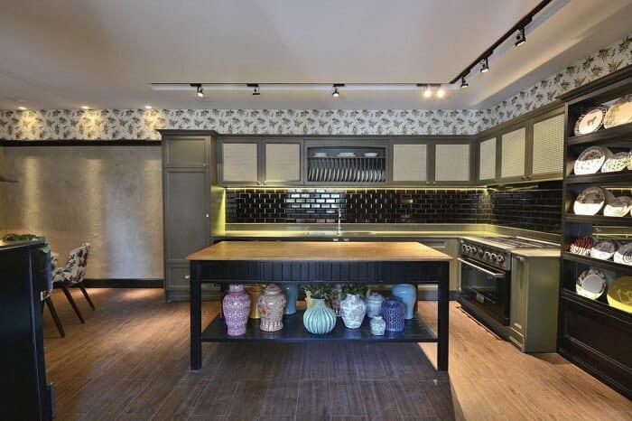 Como usar papel de parede na decoração de cozinha e banheiro e arrazar!