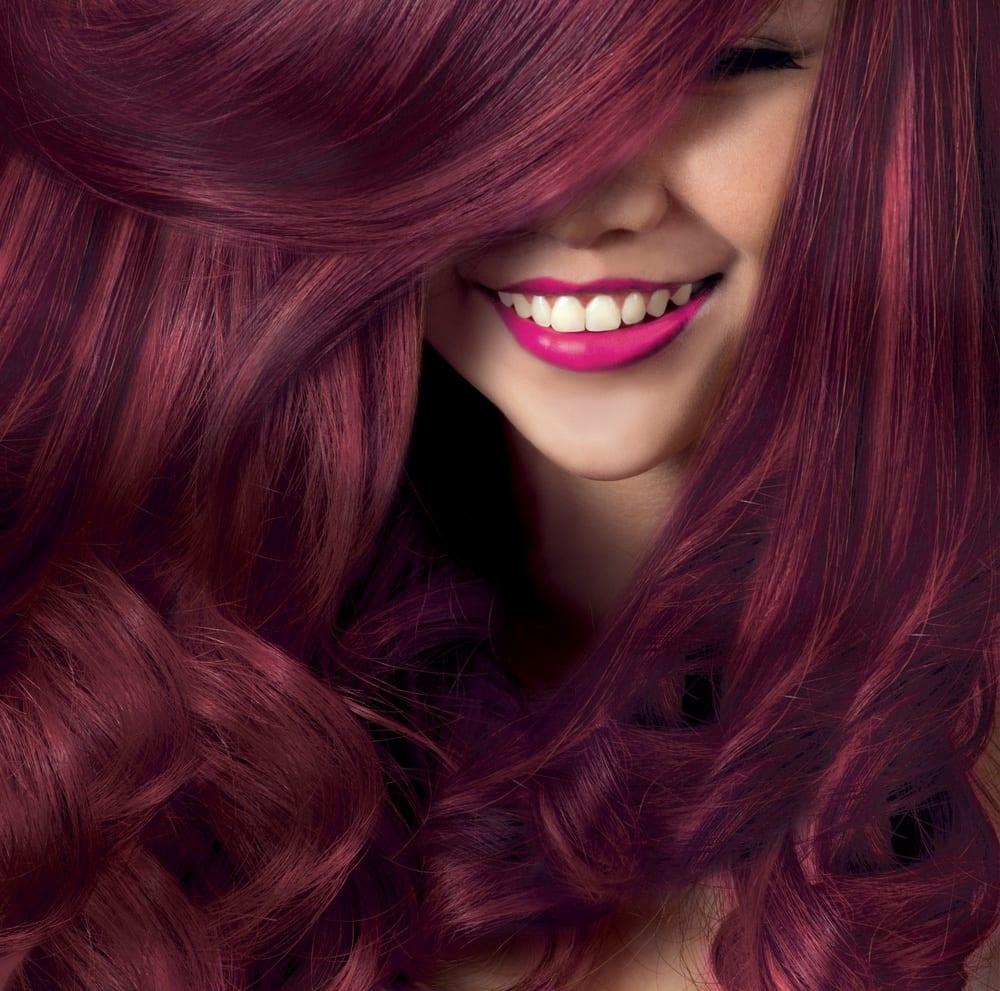 Cor marsala- tonalidades de cabelo, como pintar e cuidar