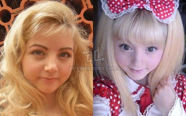 O antes e o depois de algumas barbies humanas [Top 5]