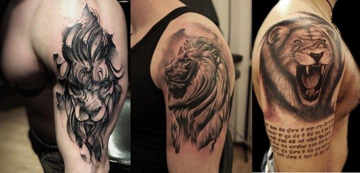 Tatuagens de leão- significados e mais de 50 ideias para se inspirar