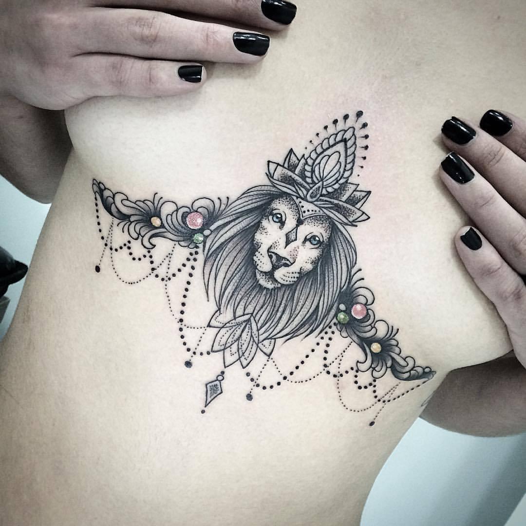 Tatuagens de leão - Significados e mais de 50 ideias para se inspirar