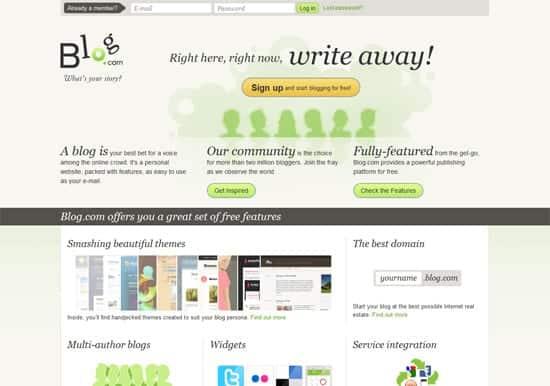 Blogs - 8 plataformas gratuitas para você criar seu blog