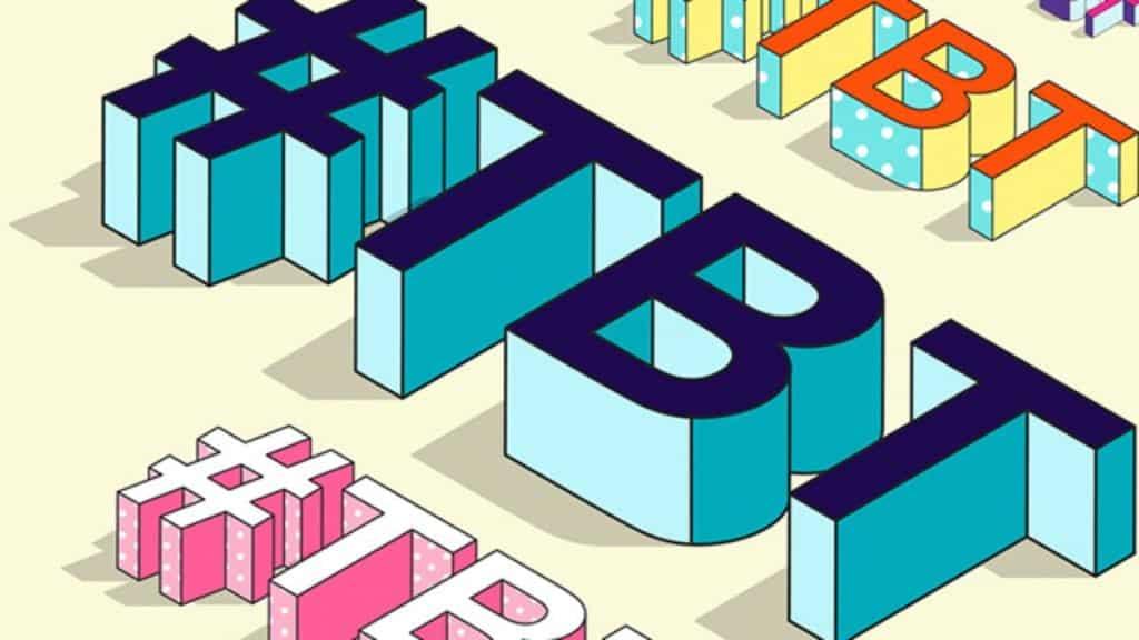 Tbt, o que significa? – Como surgiu e como usar a famosa hashtag