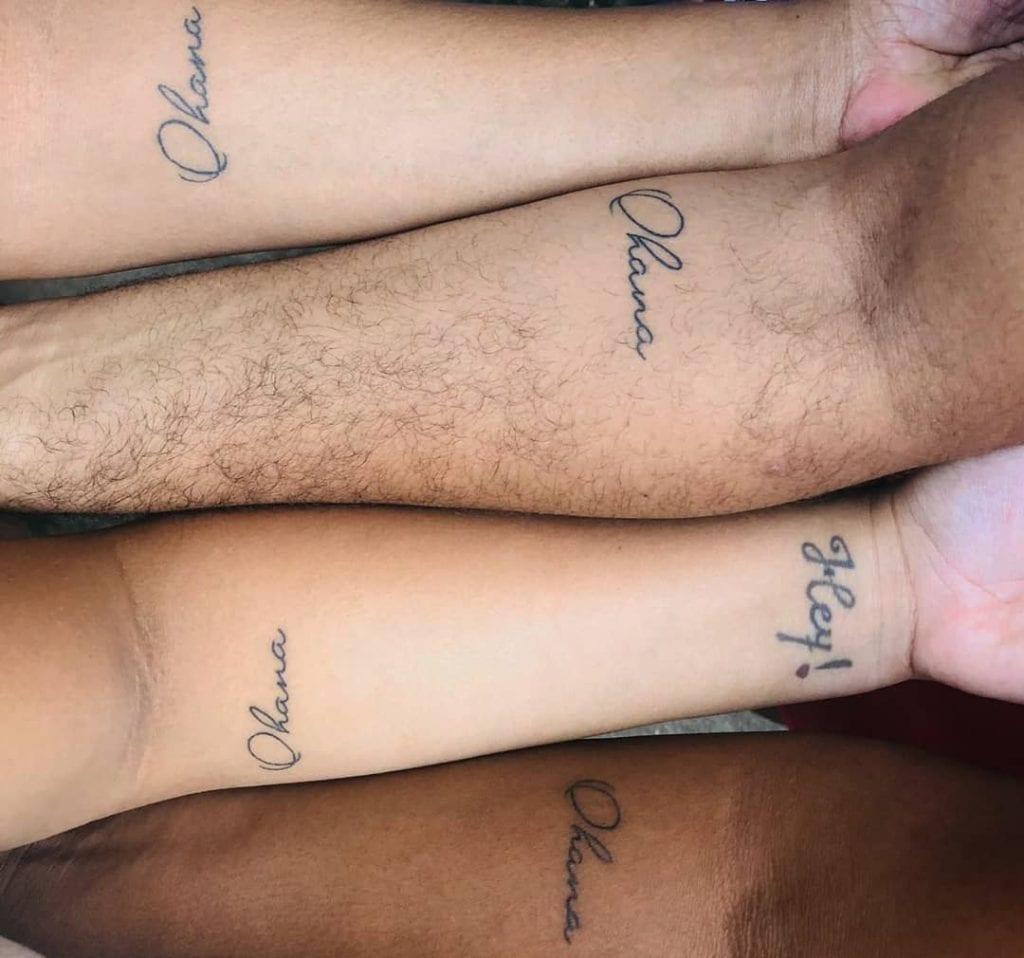 Ohana – O que significa + 30 imagens de tattoos para se inspirar