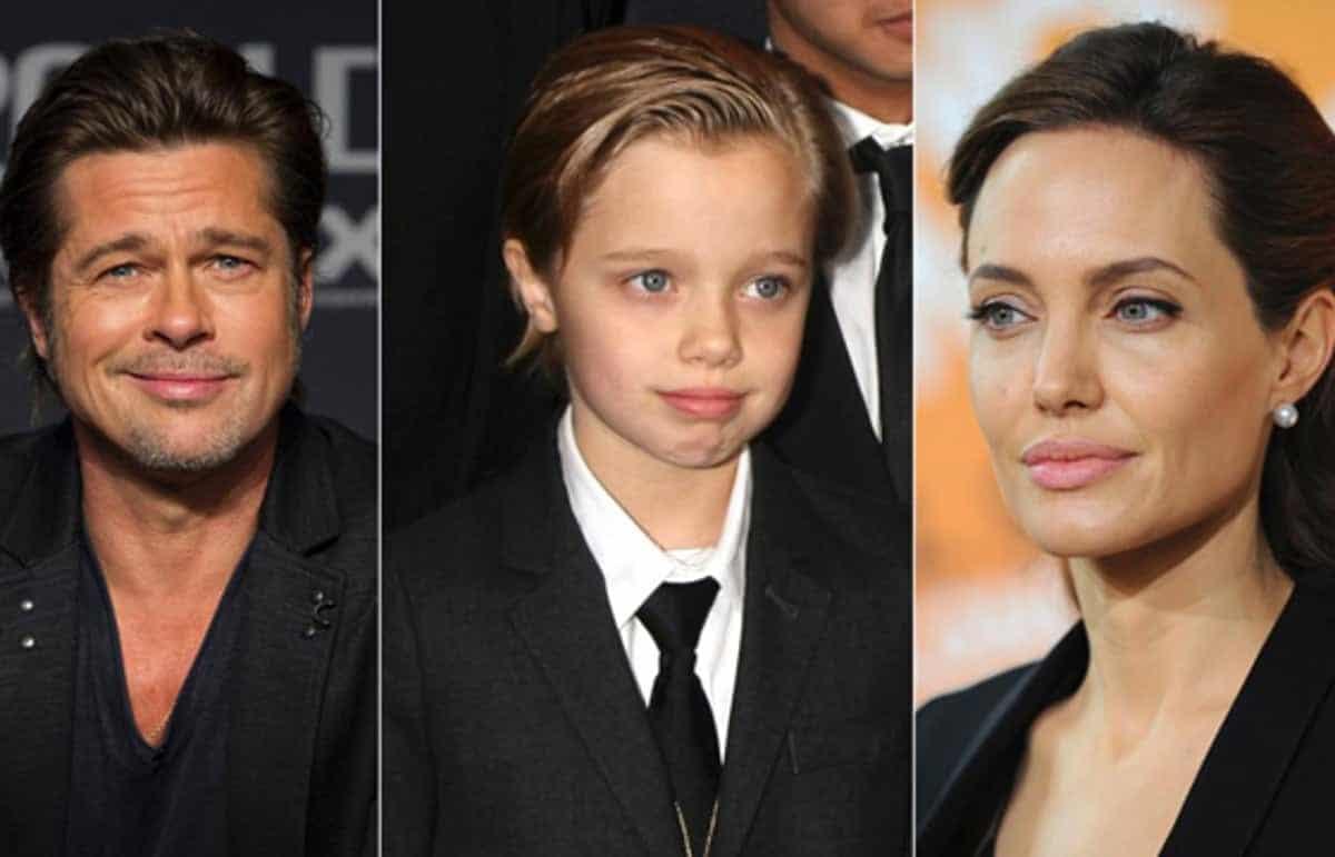Shiloh Jolie-Pitt - Primeiras imagens do começo da mudança de gênero