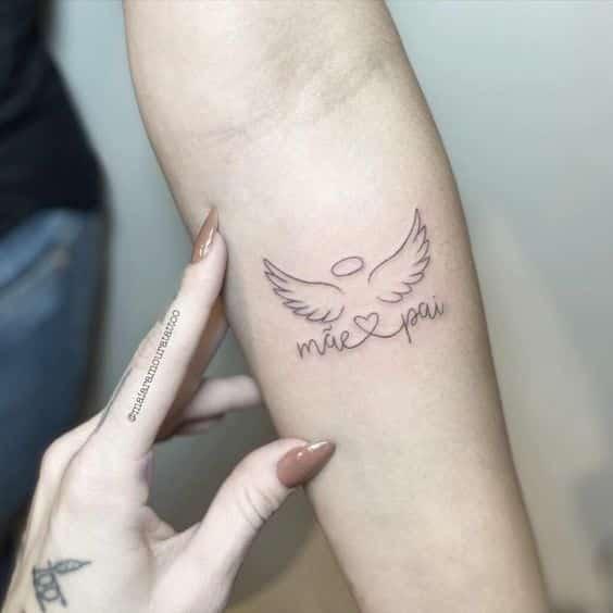 Tatuagens com nome - Onde tatuar, estilo de letra e 100 inspirações