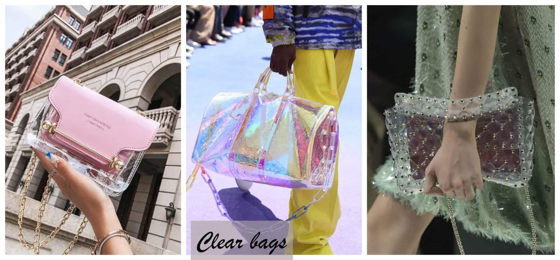 Afinal, a bolsa transparente voltou ou não, a ser tendência?