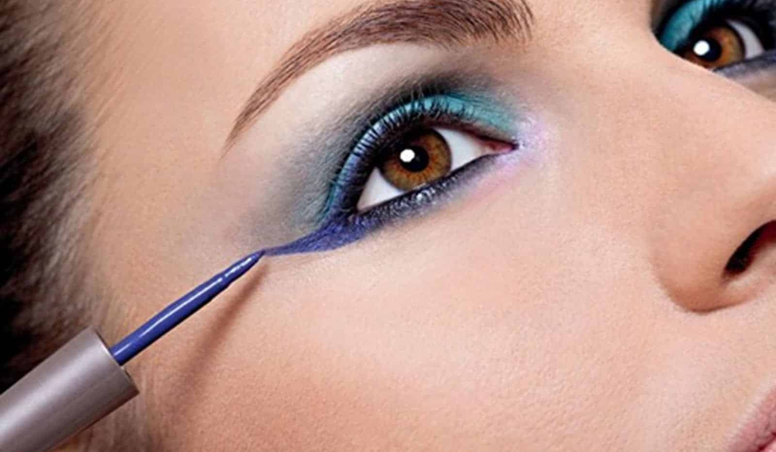 Aprenda a usar o delineado colorido e arrasar na make