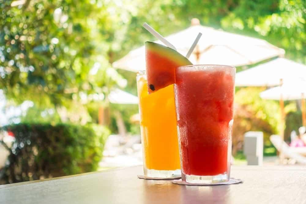 Sucos de frutas mais ricos, de acordo com o seu valor nutricional