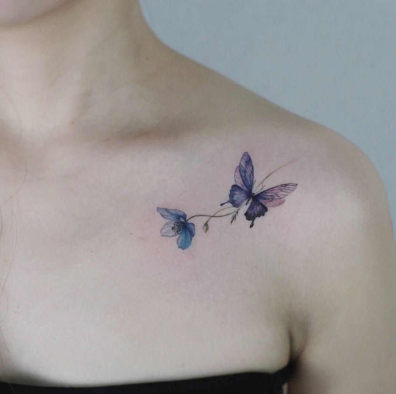 Tatuagem no ombro - 50 ideias para você se inspirar
