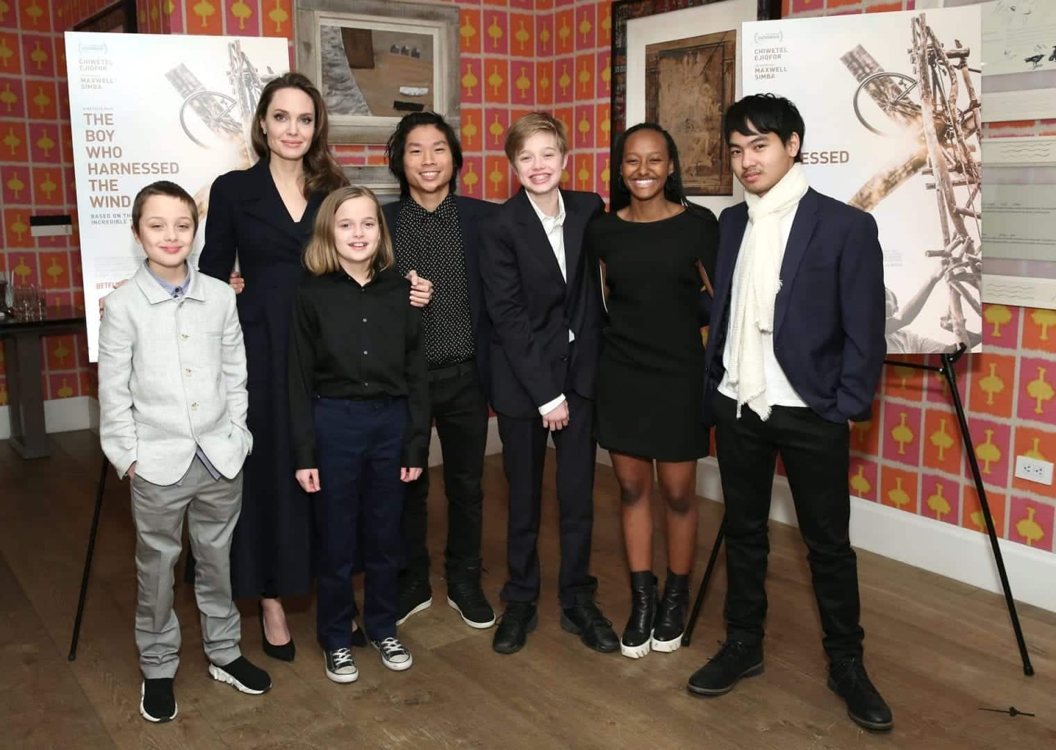 Filhos de Angelina Jolie - Quem são os 6 filhos da prole Jolie-Pitt?