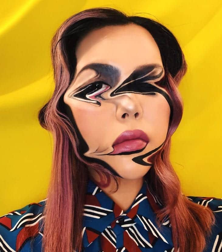 Maquiagem artística- Como fazer + 35 ideias para você se inspirar