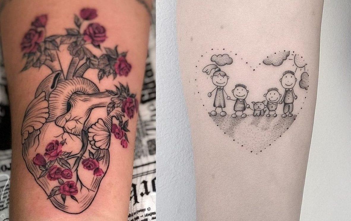 Tatuagem de coração - Significados, desenhos mais usados e inspirações